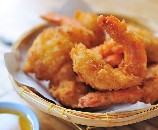 Spicy Asian Fried Shrimp