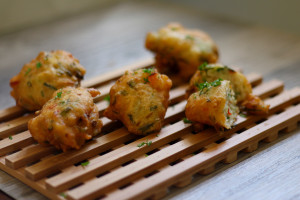 SALT FISH FRITTERS (ACCRA)