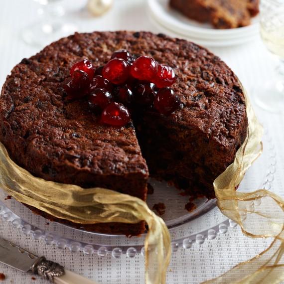 Rum Christmas Cake