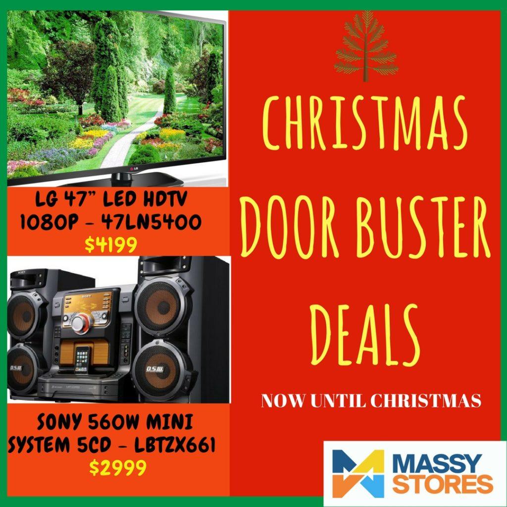 Promotions massy stores trinidad for 12 gauge door buster